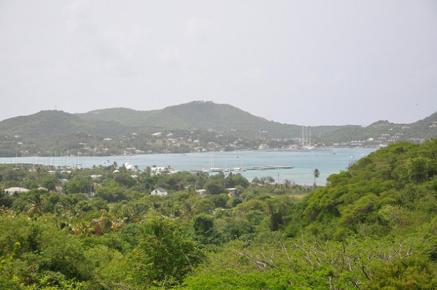 """Picturesque Antigua and Barbuda says its """"natural beauty"""" is what is being fought for in the war on climate change. Credit: Desmond Brown/IPS"""