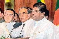 Newly appointed Foreign Minister Ravi Karunanayake