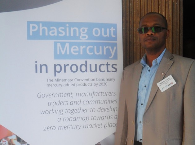 Olubunmi Olusanya of the Federal Ministry of Environment, Nigeria is keen on phasing out mercury-added products. Credit: Miriam Gathigah/IPS