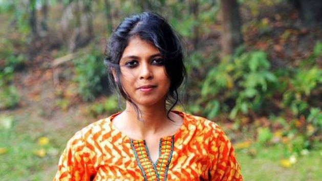 Shammi Haque, a Dhaka blogger known as a courageous advocate for free expression and secularism, received death and rape threats. Credit: Center for Inquiry