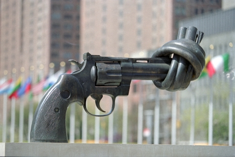 After months of talks, more than 122 countries, representing two thirds of the 192-member UN, adopted the historic nuclear ban