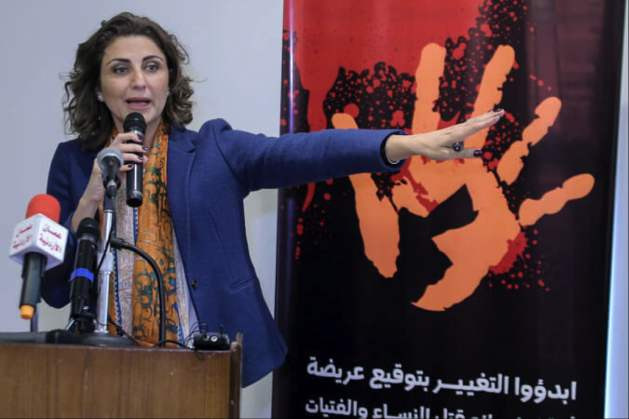 Salma Nims, Secretary-General of the Jordanian National Commission for Women. Photo: Jordanian National Commission for Women.
