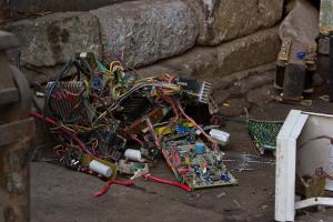 Where Do 50 Million Tonnes a Year of Toxic E-Waste Go?