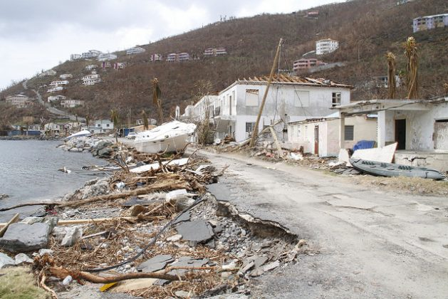 Hurricane Irma left significant damage to public infrastructure, housing, tourism, commerce, and the natural environment in the British Virgin Islands. Credit: Kenton X. Chance/IPS