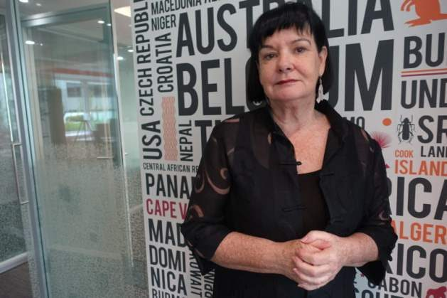 ITUC: The Global Economic Model has Failed - Sharan Burrow at her office in Brussels. Foto: Linda Flood
