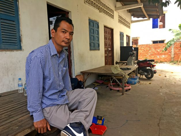 """Chhean was four years old when he moved to the U.S. His impoverished and traumatised parents ended up in the margins of society. """"Life was hard. We were a minority in a minority."""""""