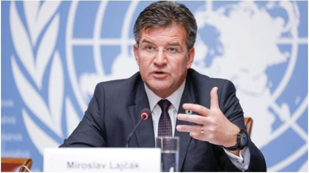 Achieving Universal Access to Water and Sanitation - The President of the General Assembly of the United Nations, Miroslav Lajčák, briefed the press on his priorities for the Assembly's seventy-second session, on 10 October 2017 at the United Nations Office at Geneva. ©UNIS/GENEVA