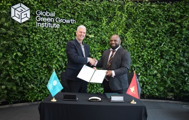 GGGI signs an Implementation Agreement with the Independent State of Papua New Guinea to provide support in accessing climate finance