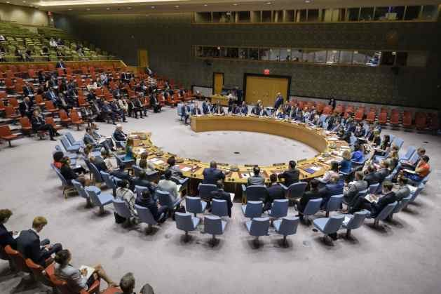 Security Council meeting on the situation in Yemen. 02 August 2018 United Nations, New York. Credit: UN Photo/Manuel Elias.