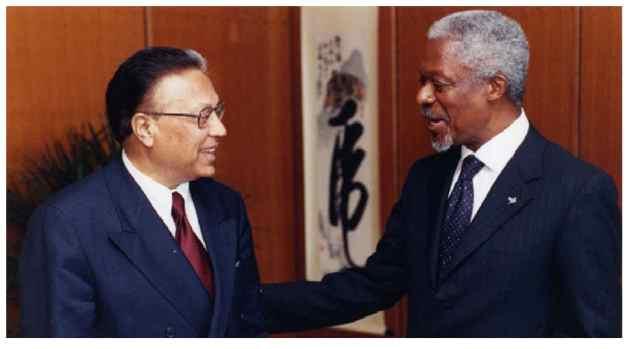An Appreciation - Kofi Annan: A Great Man of Peace & Multilateralism has Left Us   Inter Press Service