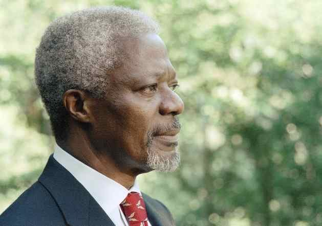 Kofi Annan. Credit: UN Photo/Evan Schneider