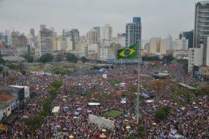 Demonstration in São Paulo to protest against presidential candidate Jair Bolsonaro. Credit: Rovena Rosa/Fotos Públicas