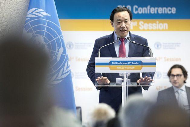FAO Director-General Elect Qu Dongyu. Credit: ©FAO/Alessia Pierdomenico.