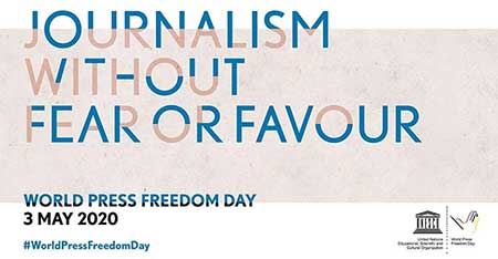To preserve and defend human dignity and well-being we must protect the freedom of the press, if not – the people of the world will follow a road to self-extinction