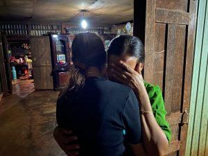 A trafficked survivor reunites with family in Vietnam. Courtesy: Blue Dragon Children's Foundation