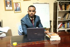 Head of the Department for the Fight Against Smuggling and Human Trafficking, Abdiwakil Abdullahi Mohamud told IPS that pointed out that it was not possible to control all Somalia's borders as they had limited resources available. Credit: Shafi'i Mohyaddin Abokar/IPS