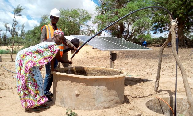 Aïssata Ba is amongst several rural women selected by Energy 4 Impact to participate in an economic empowerment programme, which provides women entrepreneurs with access to renewable energy technologies. Courtesy: Energy 4 Impact Senegal