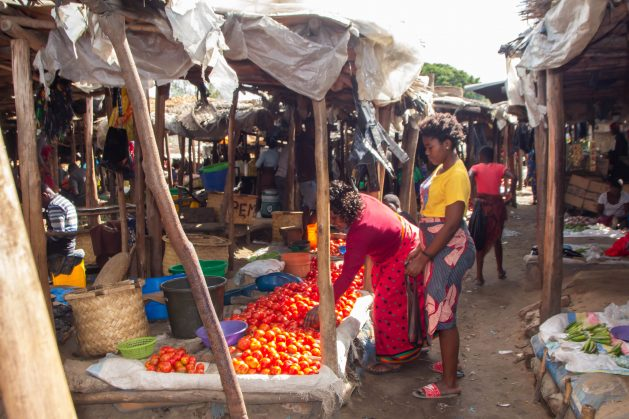 Malawi's small scale traders selling their merchandise at Limbe market in Blantyre. Credit: Lameck Masina/IPS