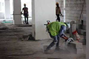 There are more than 50 million construction workers in India, 87.4% of them are categorised as casual labour, they make up a majority of the informal workforce in the country
