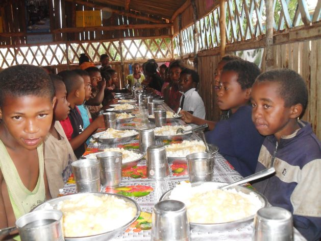 Governments have been urged to take urgent action to prevent devastating nutrition and health outcomes for the 370 million children missing out on school meals amid COVID-19 school closures. Credit: Miriam Gathigah/IPS