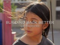Building Back Better: Education Cannot Wait