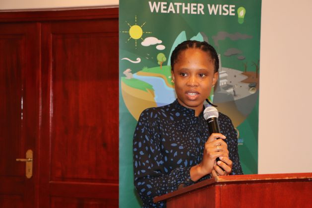 Director of Meteorology at the Ministry of Tourism and Environmental Affairs (MTEA), Duduzile Nheengethwa-Masina, said while Eswatini was able to implement many projects in the different sectors of the NDCs, some targets were not met. Credit: Mantoe Phakathi/IPS