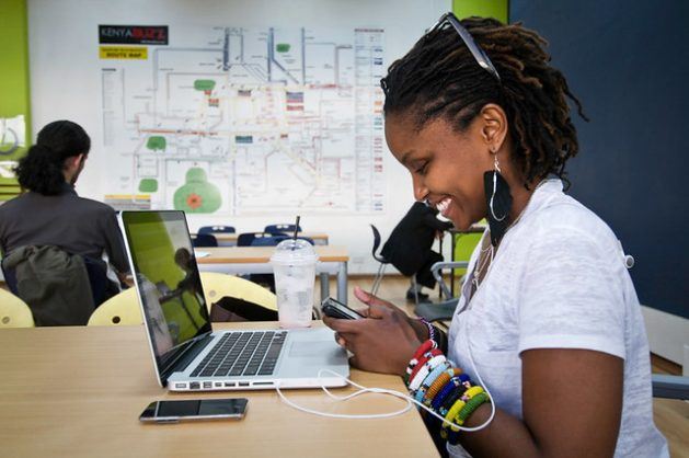 New research suggests that socio-emotional and digital skills are linked to the increased agribusiness skills of youth. Photo: CC by 2.0/iHub