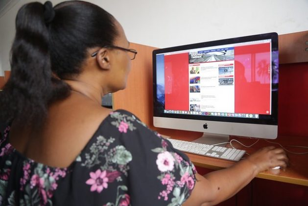 While technology has opened up opportunities for women journalists to communicate, they now reproduce and amplify harassment and abuse of the professionals across platforms. Credit: Erick Kabendera/IPS