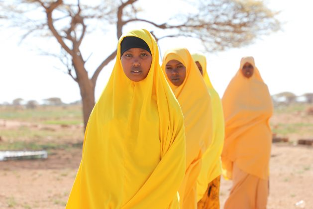 Girls in rural Somalia spend a large portion of their time helping with household chores. But thanks to Education Cannot Wait funding many girls are now able to receive an education. Credit: Save the Children