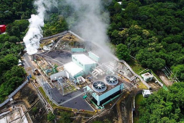 El Salvador is one of the countries in the world that has made the most progress in harnessing geothermal energy, which it has in abundance, like its Central American neighbours. CREDIT: LaGeo