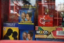 Only 10 percent of Rwanda's sexually active youth use condoms.  Credit: Julius Mwelu/IRIN