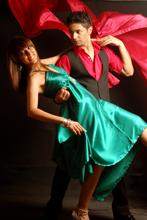 Instructor Hasan Rizvi (right) says Bollywood dancing has opened new doors for Pakistani women. Credit: BBRC