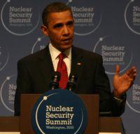 U.S. President Barack Obama addresses the Nuclear Security Summit in Washington. Credit: Eli Clifton/IPS