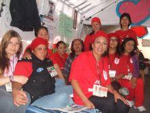 Ten former LFC workers on hunger strike. Credit: Daniela Pastrana/IPS