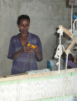 Nineteen year old Fantaye Adem's life has changed since joining the Awra-Amba community. Credit:  Omer Redi/IPS