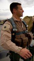 Brigadier General Raymond Palumbo, Task Force 373 commander, at Bagram Air Base, Afghanistan on Jul. 26, 2008. Credit: U.S. Air Force photo/Staff Sgt. Samuel Morse