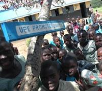 Despite free and compulsory primary education, just 25 percent of Ugandan children entering grade one eventually graduate from primary school. Credit:  IRIN