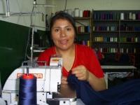 Member of Mundo Alameda textile cooperative Credit: Courtesy of Mundo Alameda