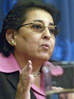 Thoraya Obaid, Executive Director of the United Nations Population Fund Credit: UN Photo/Mark Garten