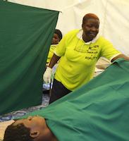 Cervical cancer screening in Soroti, Uganda. Credit:  Rosebell Kagumire/IPS