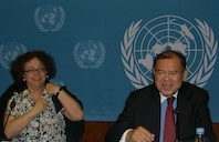 Zeljka Kozul-Wright and Supachai Panitchpakdi: Food import dependence in LDCs worsened during economic boom, according to UNCTAD. Credit: Isolda Agazzi/IPS