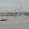 Part of the Manta fleet in the fishing terminal. Credit: Gonzalo Ortiz/IPS