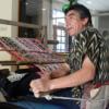 José Jiménez working at his backstrap loom.  Credit: Gonzalo Ortiz/IPS