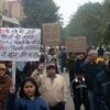 Delhi residents rally against polluting waste incinerators. Credit: Ranjit Devraj