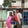 Noncedo Pulana and her children in Khayelitsha Credit:  Erna Curry/IPS