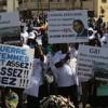 Marchers at the opening of the World Social Forum in Dakar. Credit:  Abdullah Vawda/IPS
