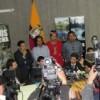 Plaintiffs belonging to the Asamblea de Afectados por la Texaco at a press conference.  Credit: Gonzalo Ortiz/IPS