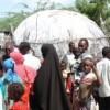 Internally displaced Somalis outside Mogadishu. Credit:  Abdurrahman Warsameh/IPS