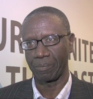 Demba Moussa Dembele, chairperson of LDC Watch, speaks to IPS. Credit: Sanjay Suri/IPS