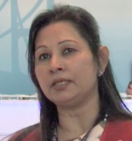 Nasreen Awal Mintoo, president of the Women Entrepreneurs Association of Bangladesh, speaks with IPS. Credit: Sanjay Suri/IPS